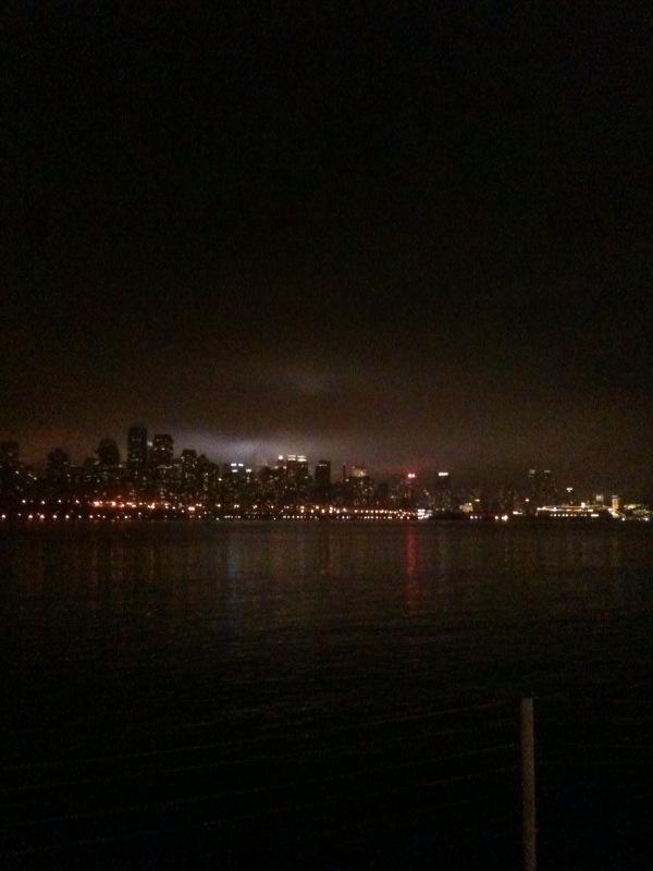 NYC Skyline from a Girls Night POV