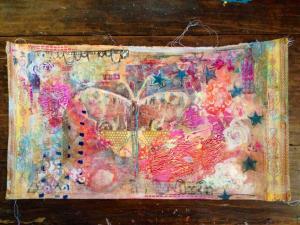 art journaling emily cline