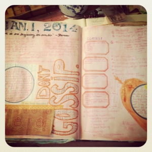 emily cline art journaling