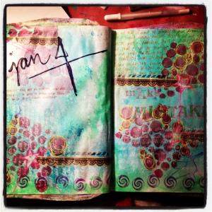 emily cline art journaling