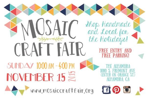 Mosaic Craft Fair, Alhambra