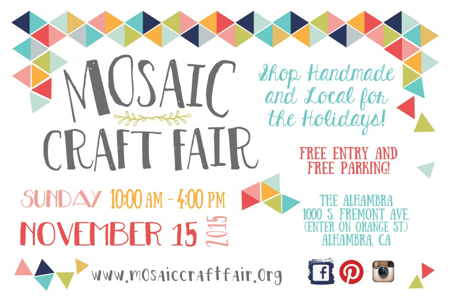 Mosaic Craft Fair, Alhambra