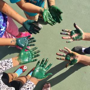 green-hands